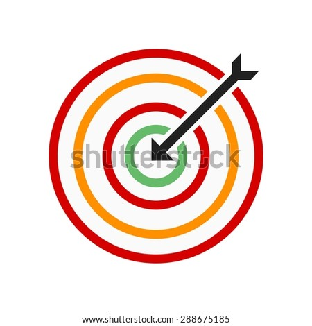 Darts, arrow, archery, sports icon vector image. Can also be used for fitness, recreation. Suitable for web apps, mobile apps and print media.