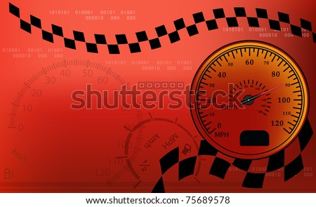 dashboard background - stock vector