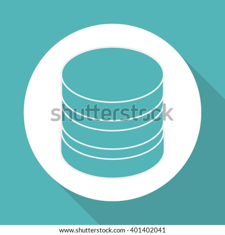 data center icon design, vector illustration