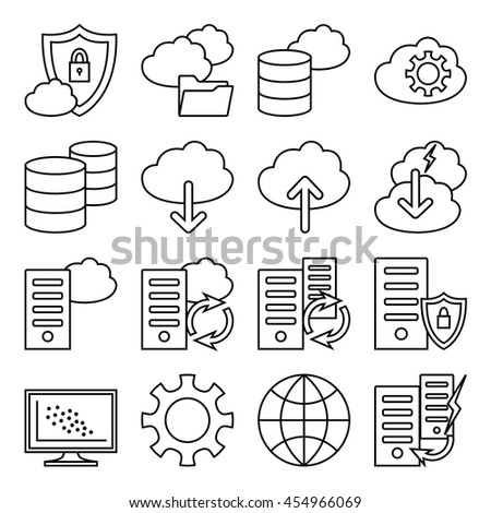 Gallery 2280971p1 furthermore Data besides Infrastructure furthermore Tech support as well Inter   work Icons 359240549. on smart data center symbol