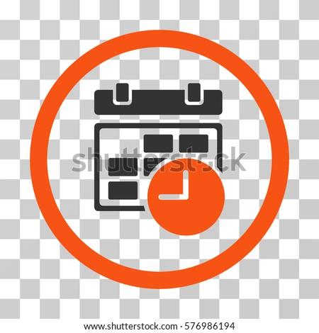 Dating website icons orange