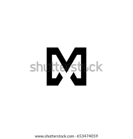 letter m logo m stock images royalty free images amp vectors 34129