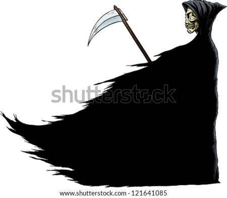 Death - stock vector