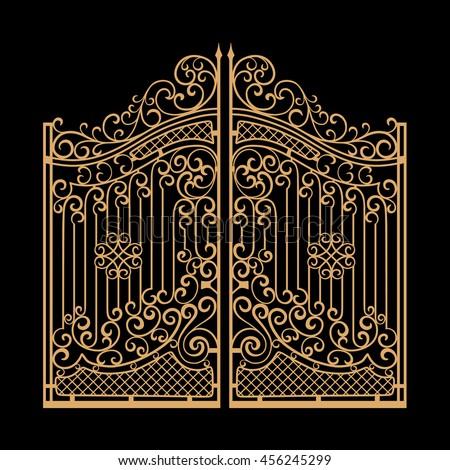 Gate Stock Vectors Images Amp Vector Art Shutterstock
