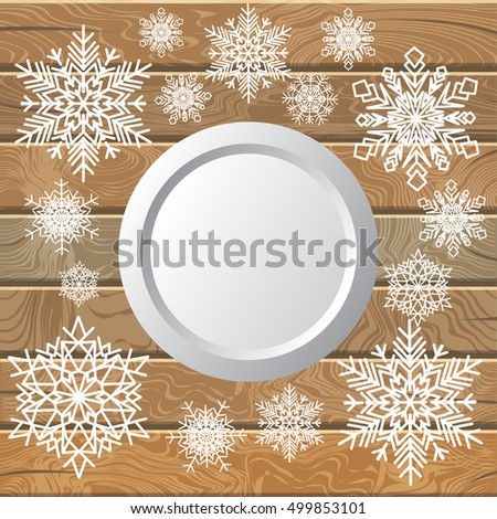 abstract christmas background bauble snowflakes stock