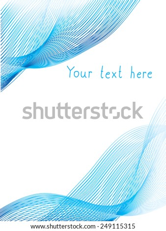 decorative background for design - stock vector