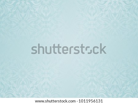 decorative background with vintage ornaments