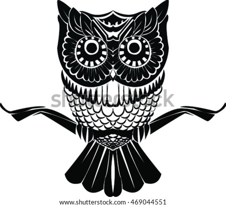 owl tattoo stock photos royaltyfree images amp vectors