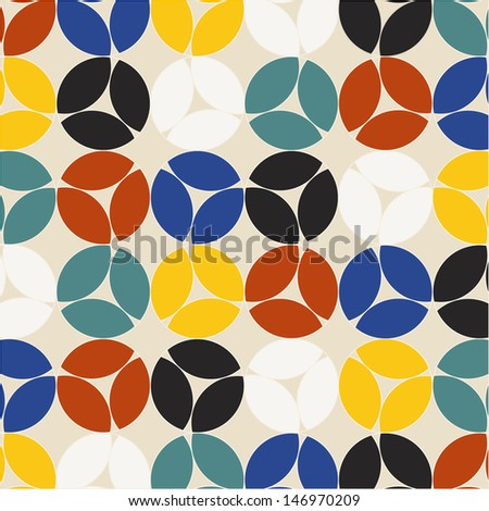 decorative circle pattern background