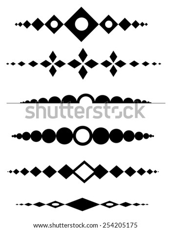 Decorative design elements can be use to decorate wedding , anniversary, valentines day, mother's day party invitation / cards. - stock vector