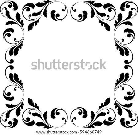 517843657136208111 furthermore 289848926003131979 likewise Round flower frame furthermore Circle floral frame moreover Rose sketch. on birthday flowers