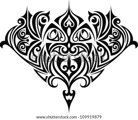 Decorative I - stock vector