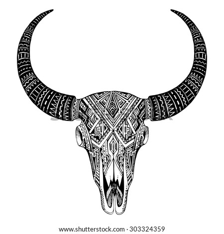 bull tattoo stock images royalty free images vectors shutterstock. Black Bedroom Furniture Sets. Home Design Ideas