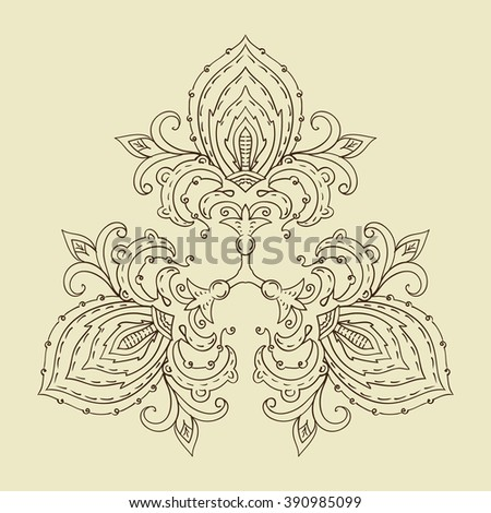 Decorative items to decorate your work. For the design and decoration background, packaging, fabrics, 