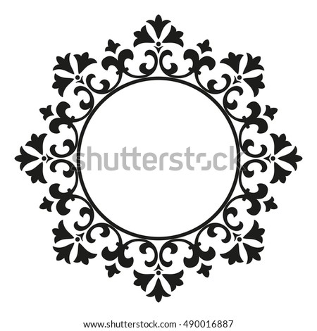 decorative line art frames design template stock vector hd royalty rh shutterstock com lace vector art lace vector file