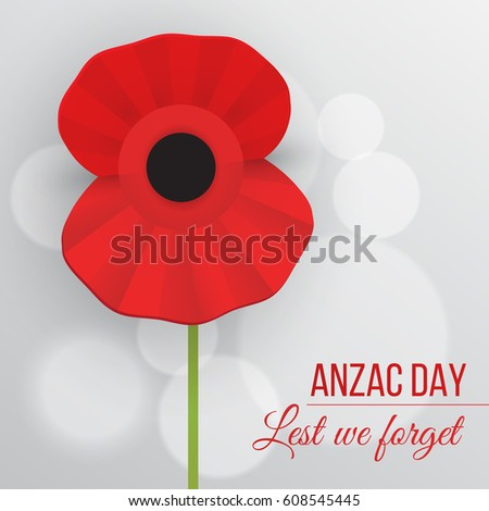 how to draw a poppy for anzac day