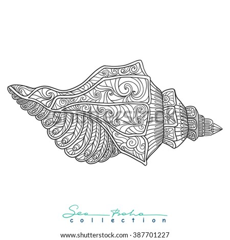 Outline Drawing Coloring Book For Adult And Older Children