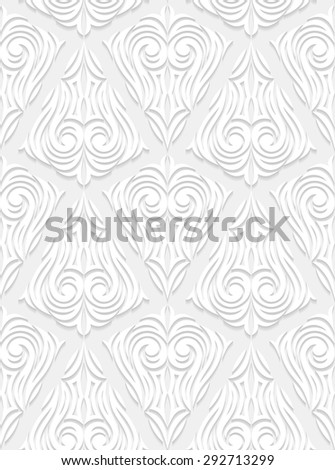 Decorative seamless pattern. Vector illustration.  - stock vector