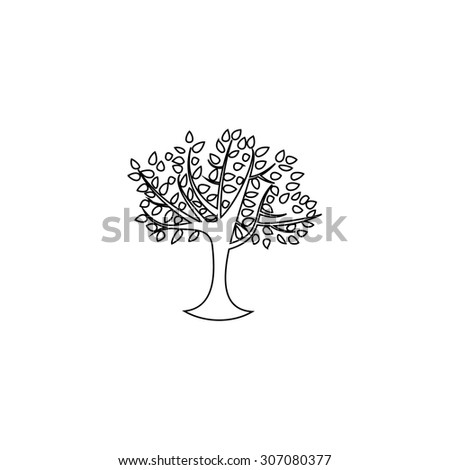 Simple Tree Outline