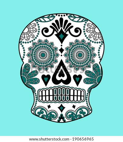 Decorated Skulls Drawings Decorative Skull