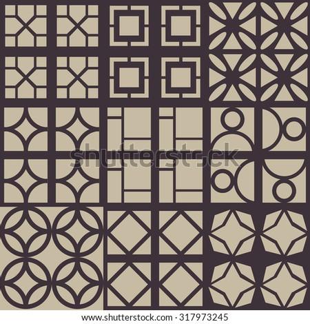 decorative vector wallpaper. Abstract illustration. - stock vector