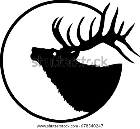 deer head logo vector image symbol stock vector 2018 678540247 rh shutterstock com deer head logo designs deer head logo brand
