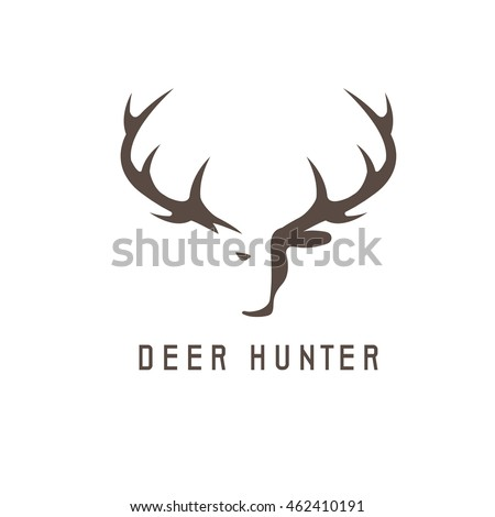 deer head vector design templatehunting illustration stock photo rh shutterstock com deer antler light deer antler lights and lamps