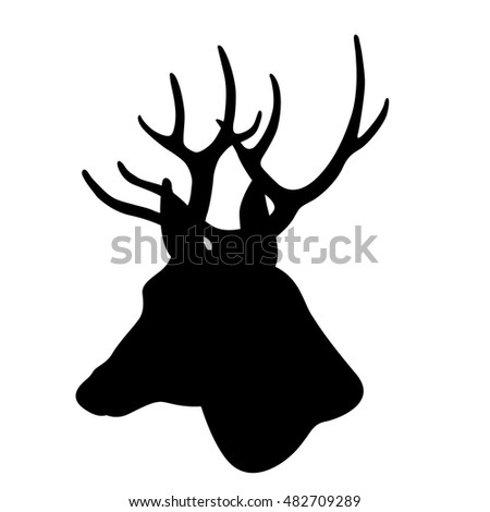 Reindeer Head Stock Images, Royalty-Free Images & Vectors ...