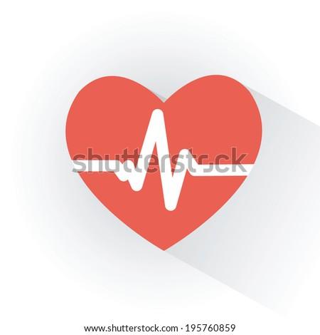 defibrillator icon - stock vector