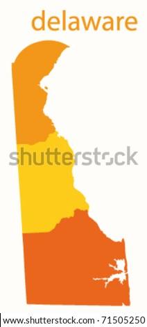 Delaware State Map Stock Images RoyaltyFree Images Vectors - Delaware state map
