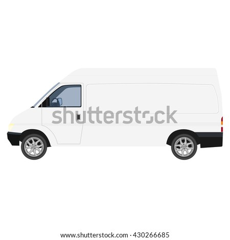Delivery car vector icon, delivery truck, delivery service, delivery van