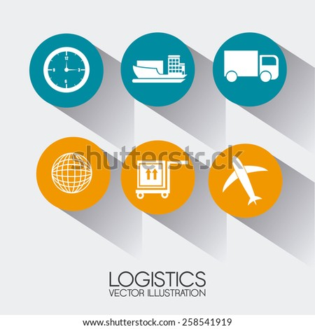 Delivery design over white background,vector illustration.