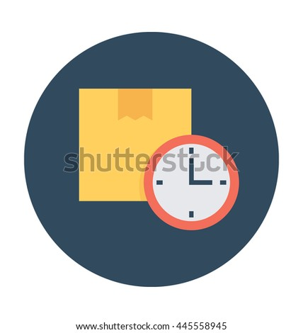 Delivery Time Vector Icon