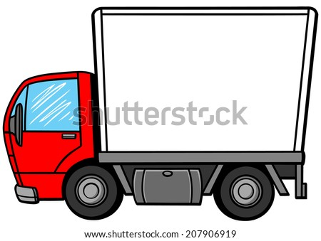 Cartoon Truck Stock Images Royalty Free Images amp Vectors