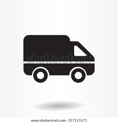delivery truck icon vector - photo #27