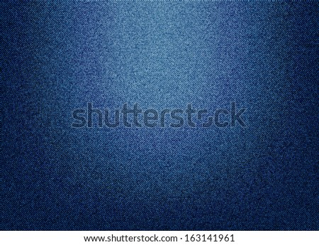 Denim jeans background - stock vector