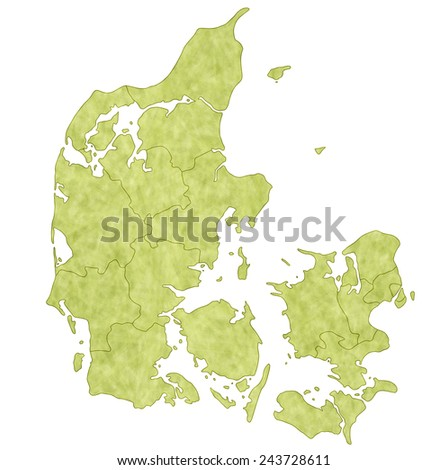 Denmark map countries