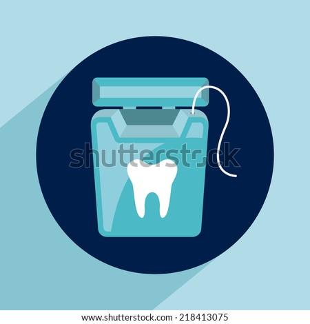 dental care design , vector illustration - stock vector