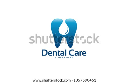 Dental Care Logo Designs Concept Vector Pure Template