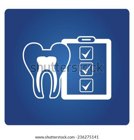 dental checkup - stock vector
