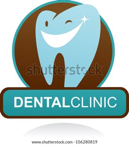 Dental Logo Vector Dental Clinic Vector Icon