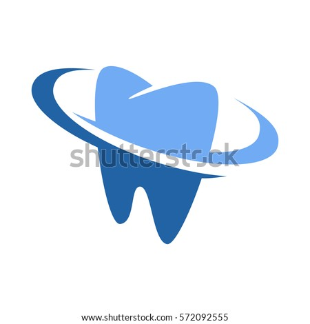 Dental Dentist Logo Design Stock Vector 572092555 - Shutterstock