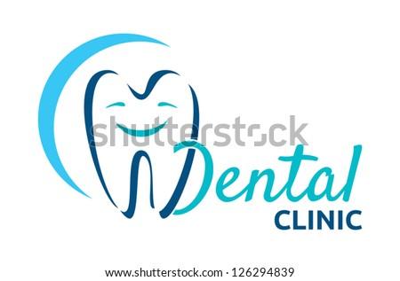 dental icon - stock vector