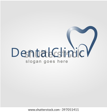 Dental Logo Design Dentist Logo Dental Stock Vector 398515489 ...