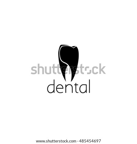 Dental Logo Graphic Design Concept Editable Element Can Be Used As Logotype