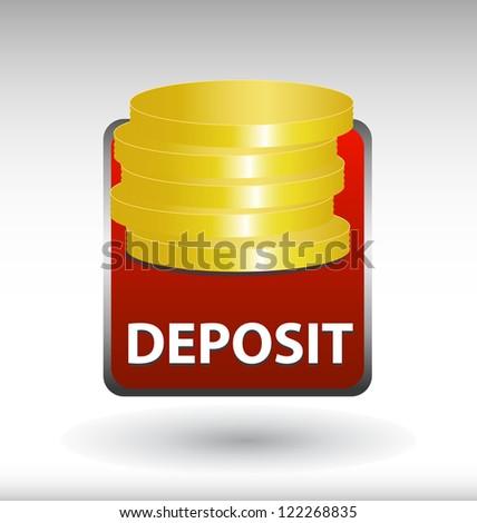 Bank Deposit Stock Vectors & Vector Clip Art | Shutterstock