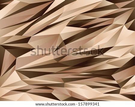 Desert Digital Camouflage background - stock vector