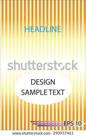 Design a Brochure, Vector illustration eps10.