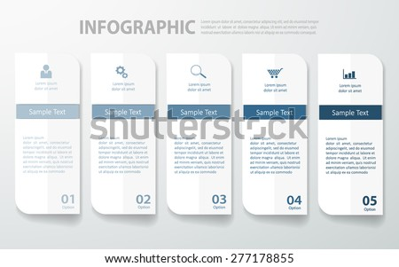 Design clean banners template/graphic. Vector eps10 - stock vector