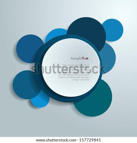 Design colorful circle. - stock vector